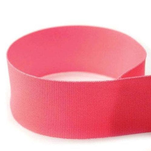 Preppy Grosgrain Ribbon in Hot Pink