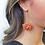 Thumbnail: Broadway Beaded Pom Earrings in Multi