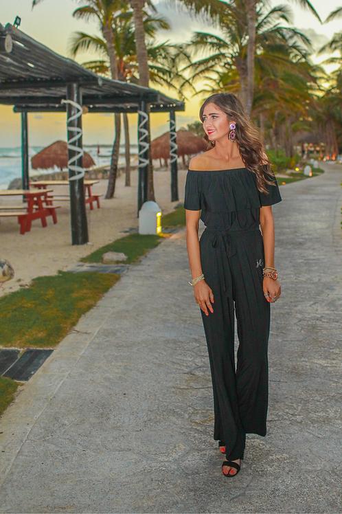 Ritz & Romance Jumpsuit in Black