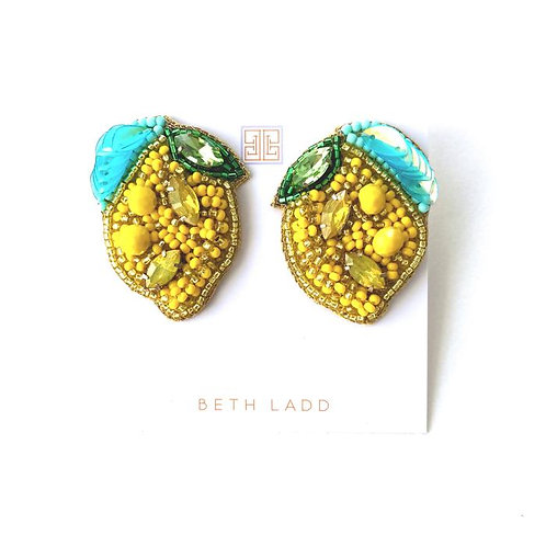 Lemon Studs by Beth Ladd