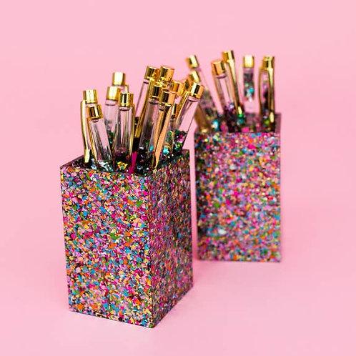 Confetti Pen Cup by Taylor Elliott Designs