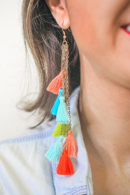 Now Or Never Tassel Earrings