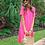 Thumbnail: Maddy T-Shirt Dress in Hot Pink