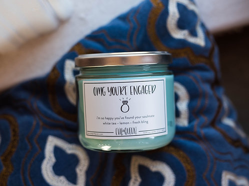 OMG You're Engaged 12 oz. Candle by Evil Queen