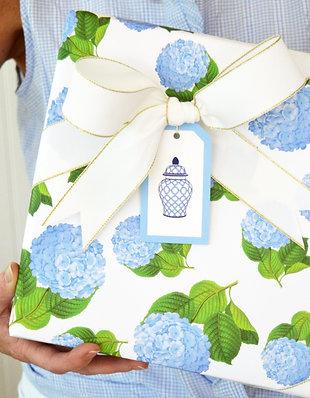 Hydrangeas Gift Wrap Sheets