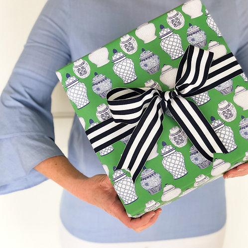 Ginger Jar Pattern Gift Wrap Sheets