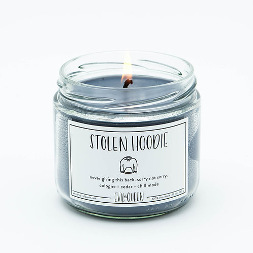 Stolen Hoodie 12 oz. Candle by Evil Queen
