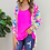Thumbnail: Everly Colorful Leopard Cardigan in White