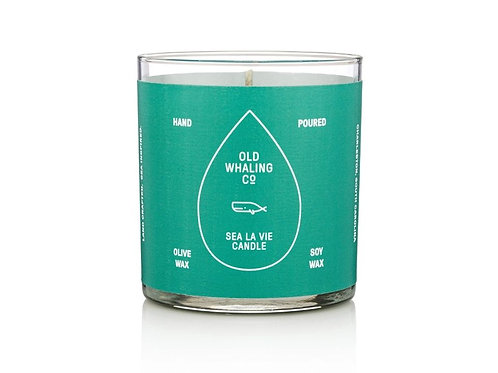 Sea La Vie Candle by Old Whaling Co.