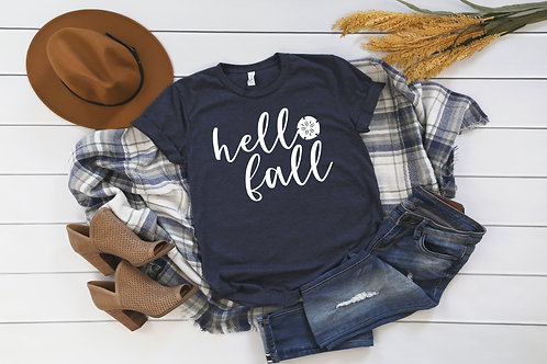 Hello Fall Sand Dollar T-Shirt