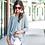 Thumbnail: Jenna Hi Lo Tunic in Gray