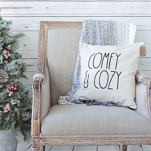 Comfy & Cozy Pillow Cover