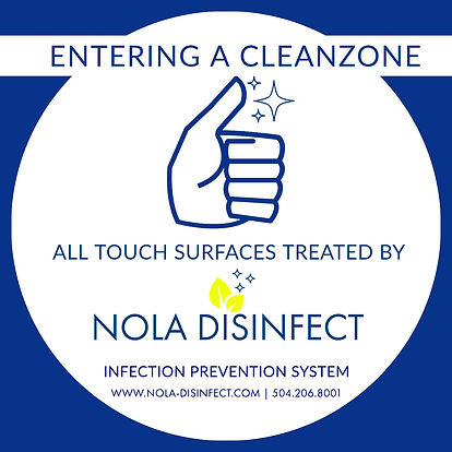 Disinfecting services New orleans Metairie kenner mandeville northshore slidell restaurant office house Covid Coronavirus Disinfect home residential commercial business disinfect near me