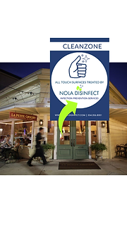 NOLA Disinfect Disinfecting services New orleans Metairie kenner mandeville northshore slidell restaurant office house Covid Coronavirus Disinfect home residential commercial business disinfect near me