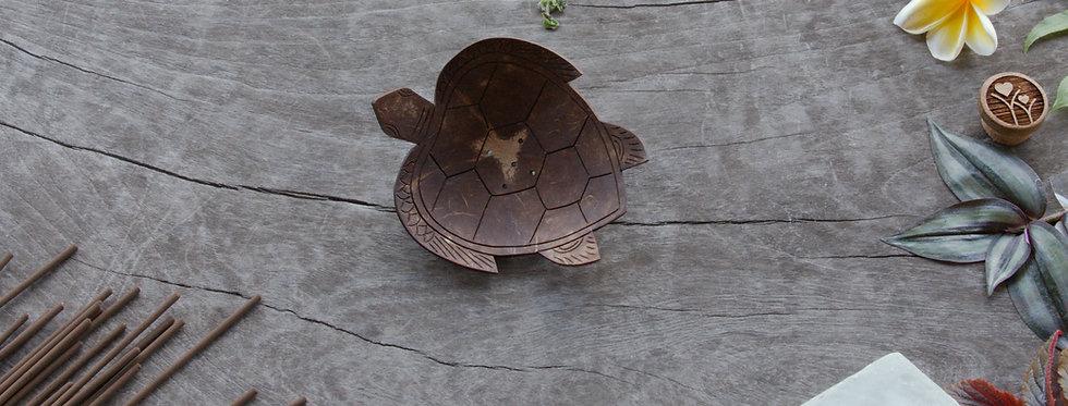 Turtle • Coconut Soap / Incense Tray