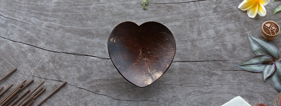 Heart • Coconut Soap / Incense Tray