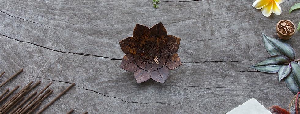 Lotus • Coconut Soap / Incense Tray