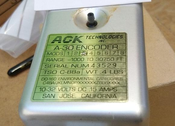 ALTITUDE ENCODEUR Ack A-30