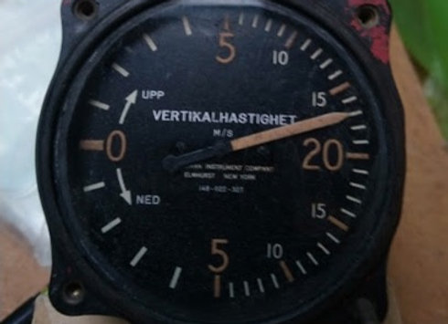 VERTICAL SPEED INDICATOR Kollsman 0-20M/S