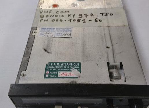 VHF COM Bendix King KY 97 A TSO
