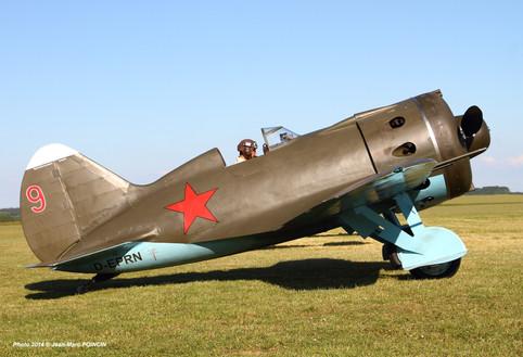 Polikarpov I-16 D-EPRN_Bruno_Til Chatel_