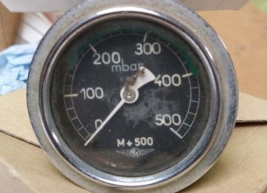 MANOMETER AM 0-250 kg/cm2
