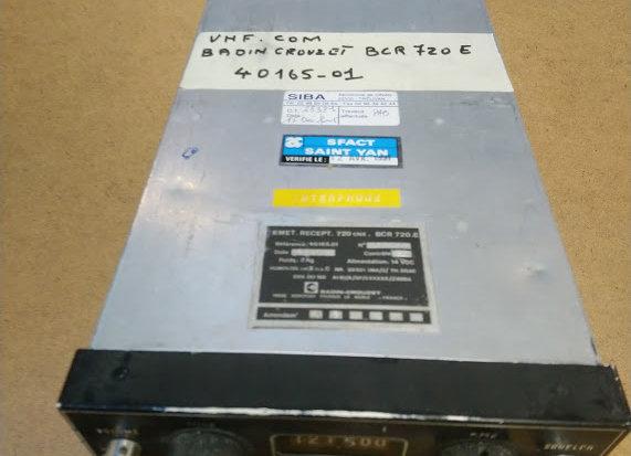 VHF COM Badin Crouzet BCR 720 E