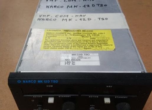 VHF COM NAV NARCO MK12 D TSO
