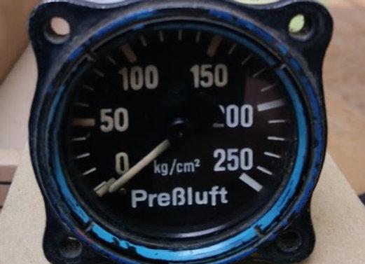 MANOMETER Drager 0-250 kg/cm2