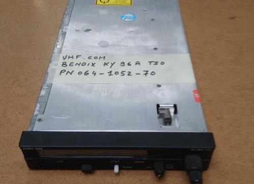 VHF COM Bendix King Ky 96 A TSO