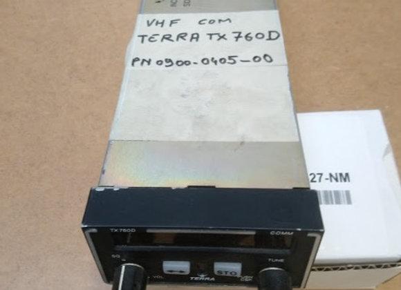 VHF COM Terra TX 760 D