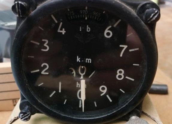 ALTIMETER Jaeger Type 213 0-9000 mts