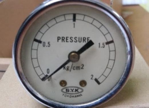 MANOMETER S.Y.K 0-2 kg/cm2