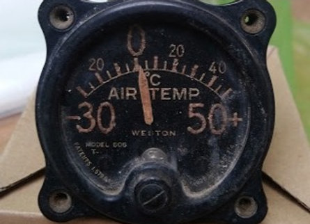 AIR TEMPERATURE INDICATOR Weston Model 606 -30+50°C