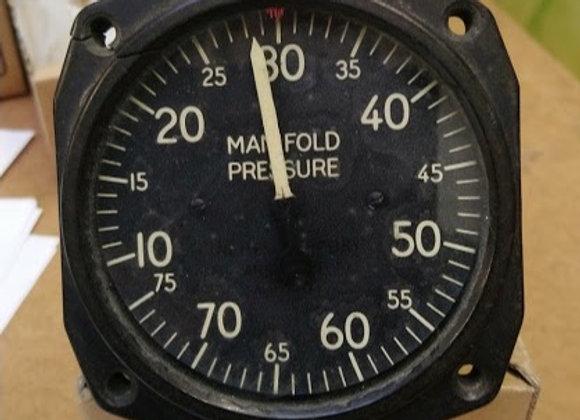 MANIFOLD PRESSURE GAGE AC 10-75 IN HG