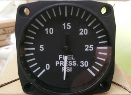 FUEL PRESSURE INDICATOR Uma 0-30 PSI (new)