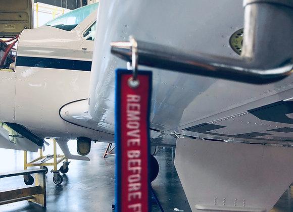 Porte clés-Flamme AERO RESTAURATION SERVICE