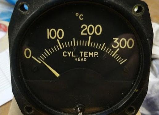 CHT INDICATOR Lewis ENG 0-350°C