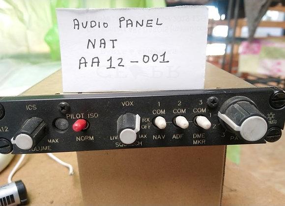AUDIO PANEL NAT AA12-001