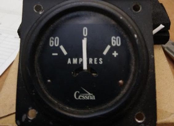 AMMETER Cessna +/- 60 AMP
