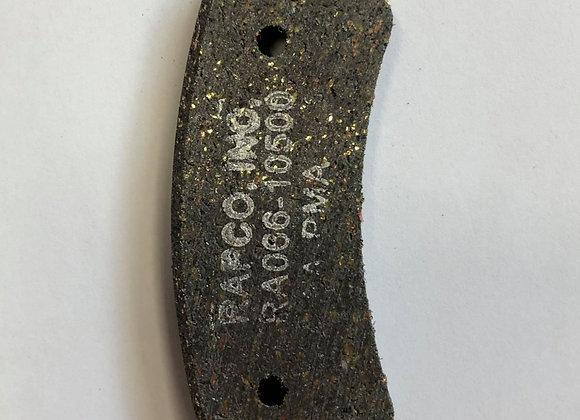Plaquette de frein RA066-10500
