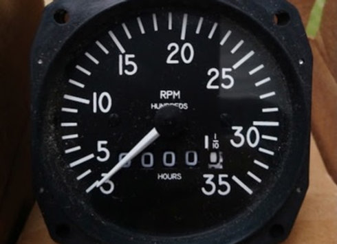 MECANICAL TACHOMETER Mitchell 300-3500 RMP (new)