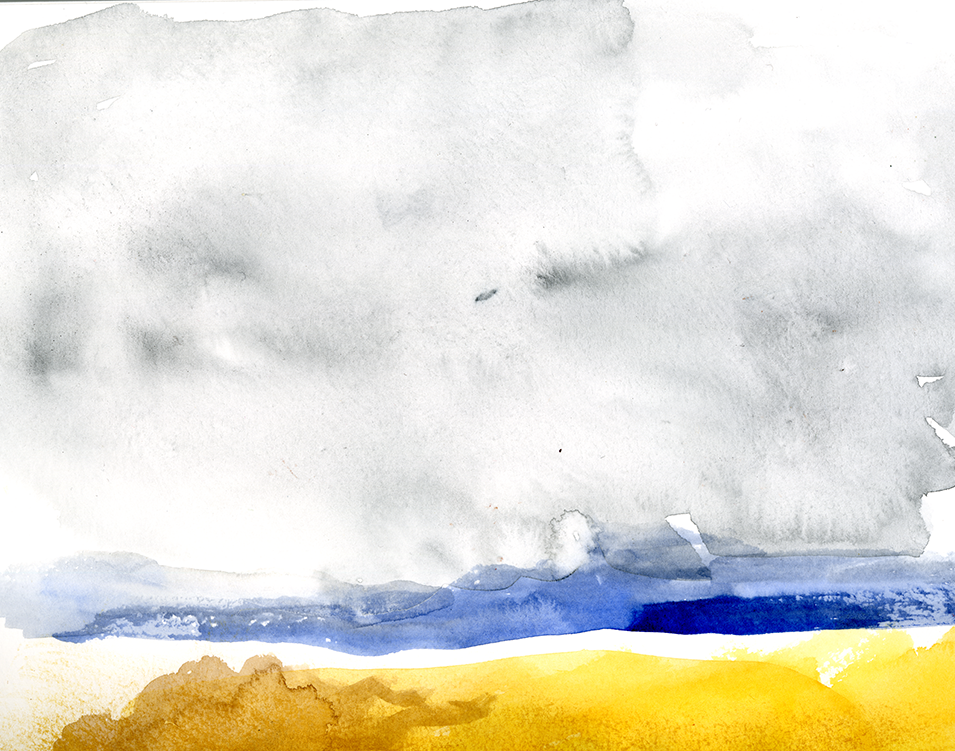 SKY WATERCOLOR