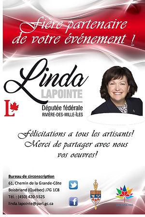 Députée Fédérale Linda Lapointe