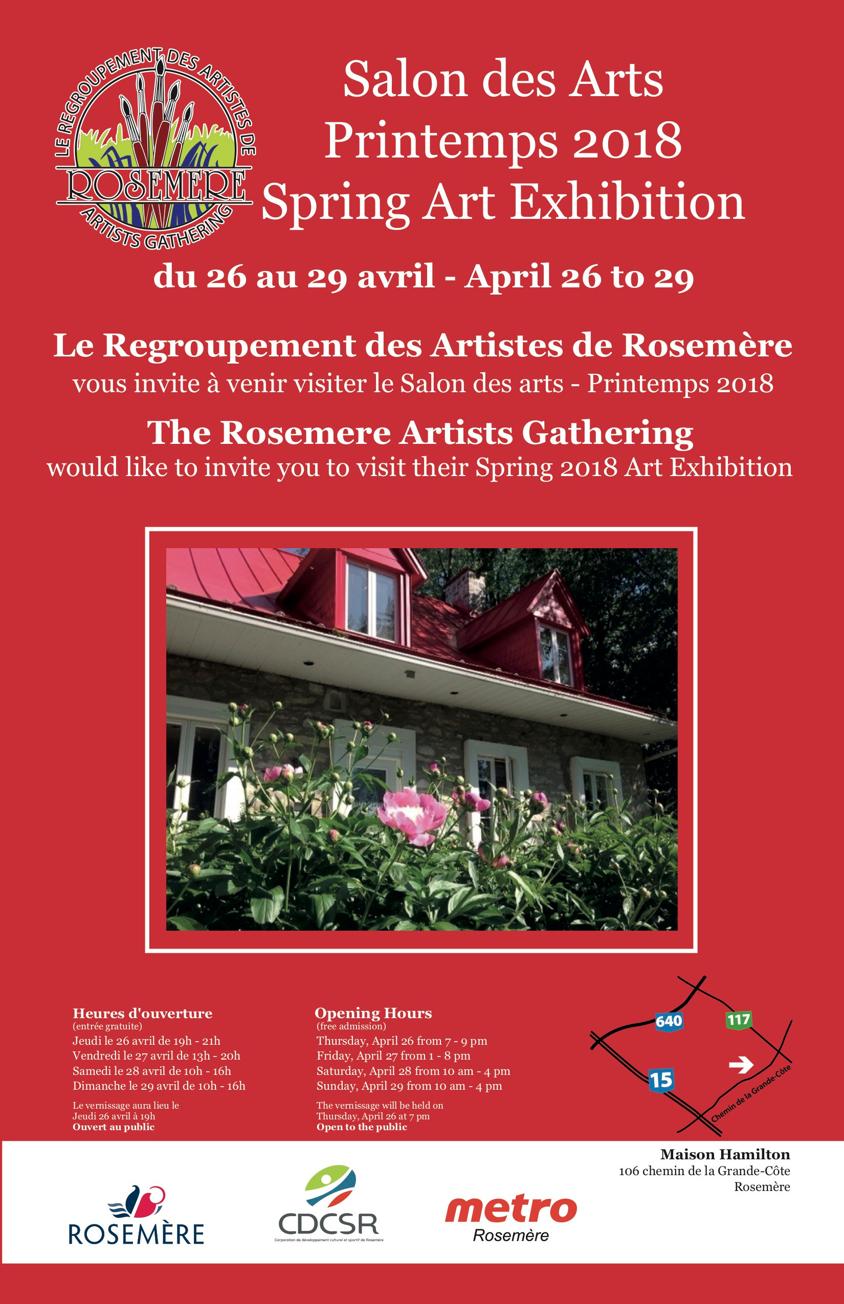 Salon des arts du printemps 2018