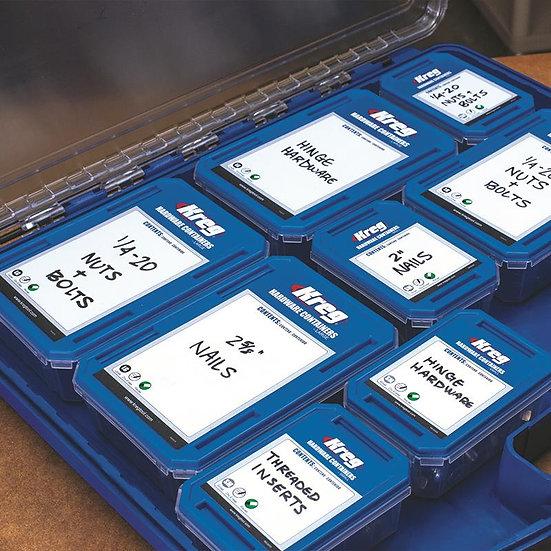 קופסת אחסון גדולה לארגונית ברגים