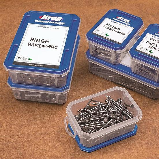 קופסת איחסון קטנה לארגונית ברגים