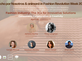 Consumption, Collaboration & Creativity: the 3C's for Innovative Solutions in the Fashion Industry