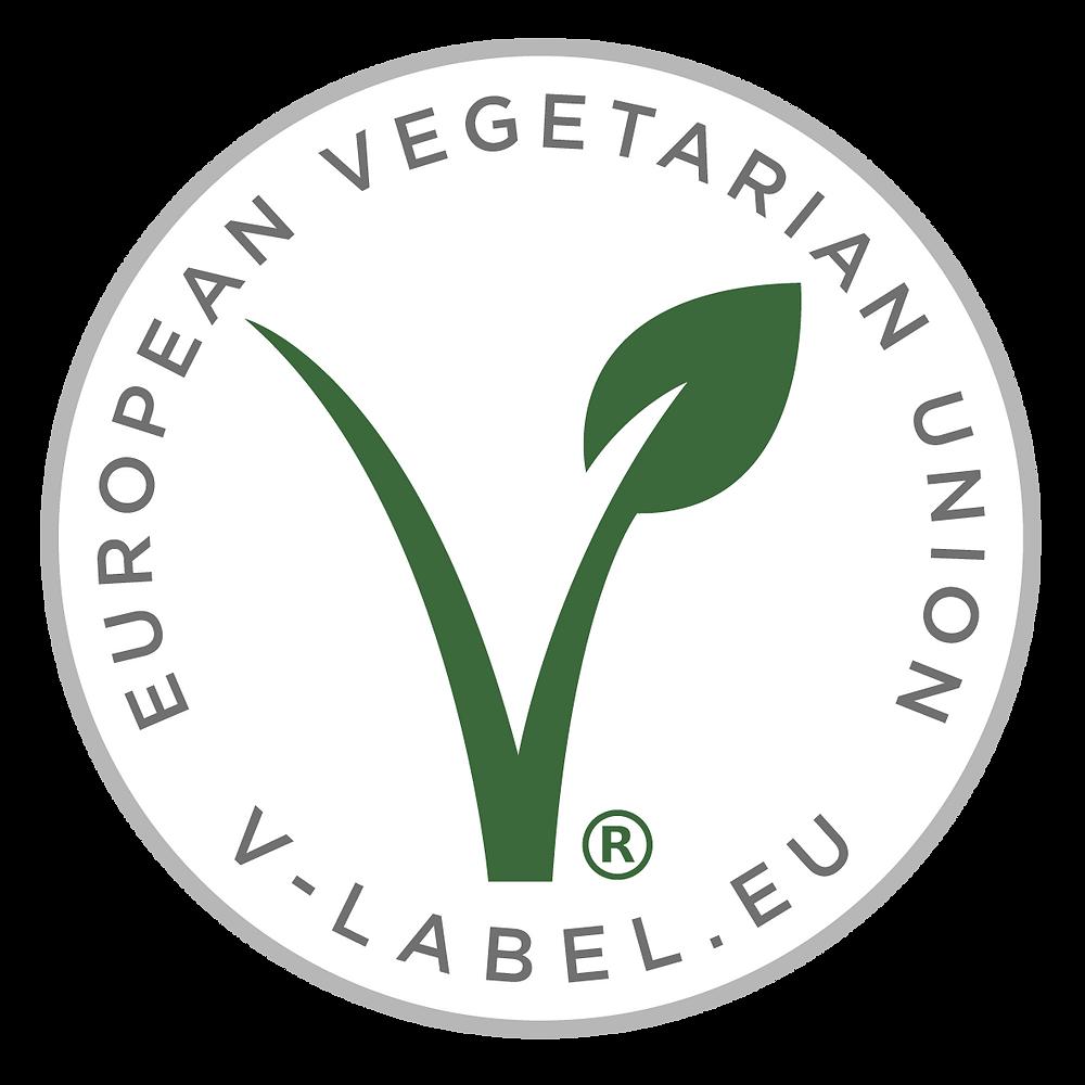 Sello de calidad para productos veganos