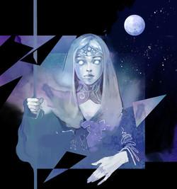 Ariianrhod, the Moonmaiden
